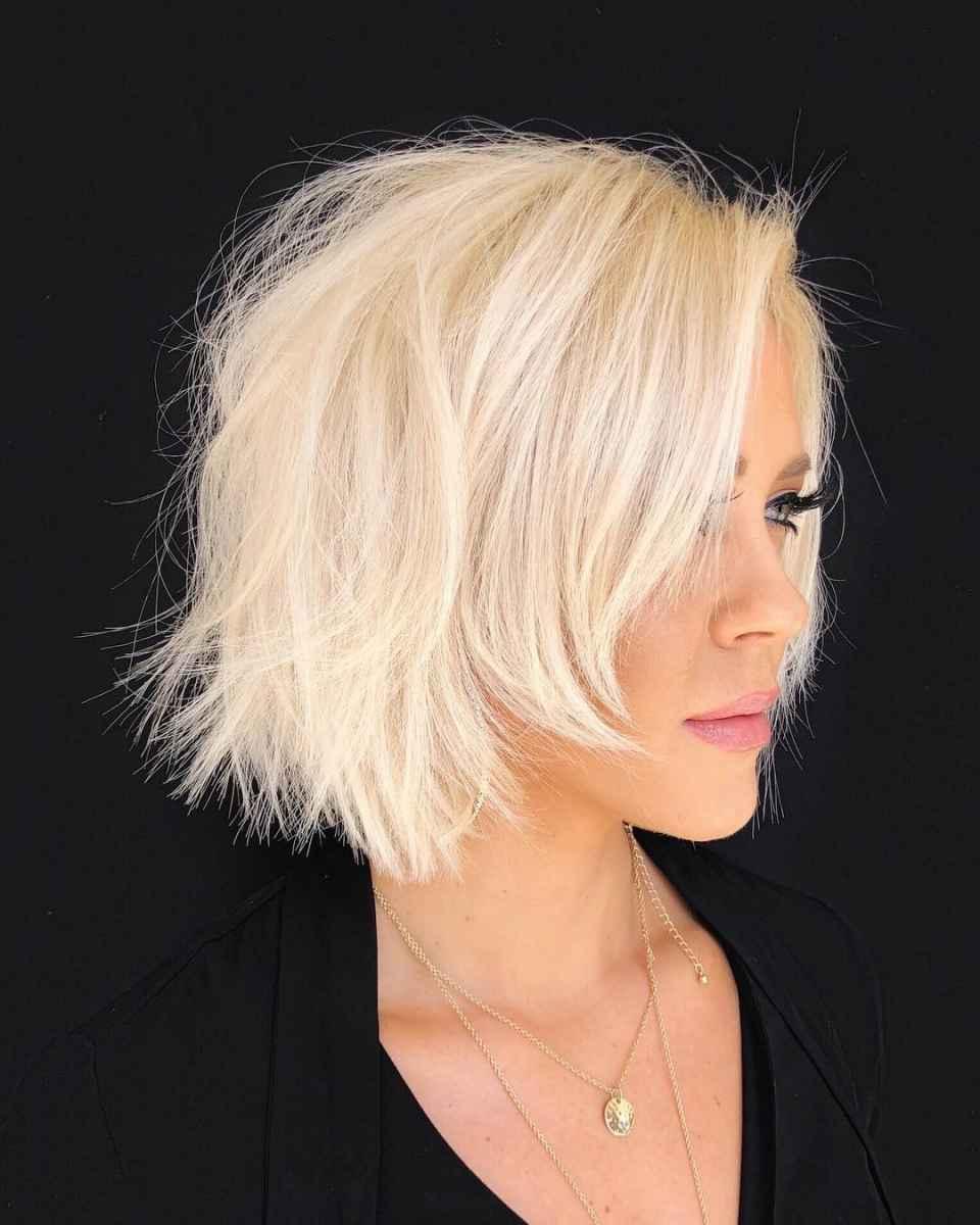 10 крутых примеров стрижки каре для блондинок