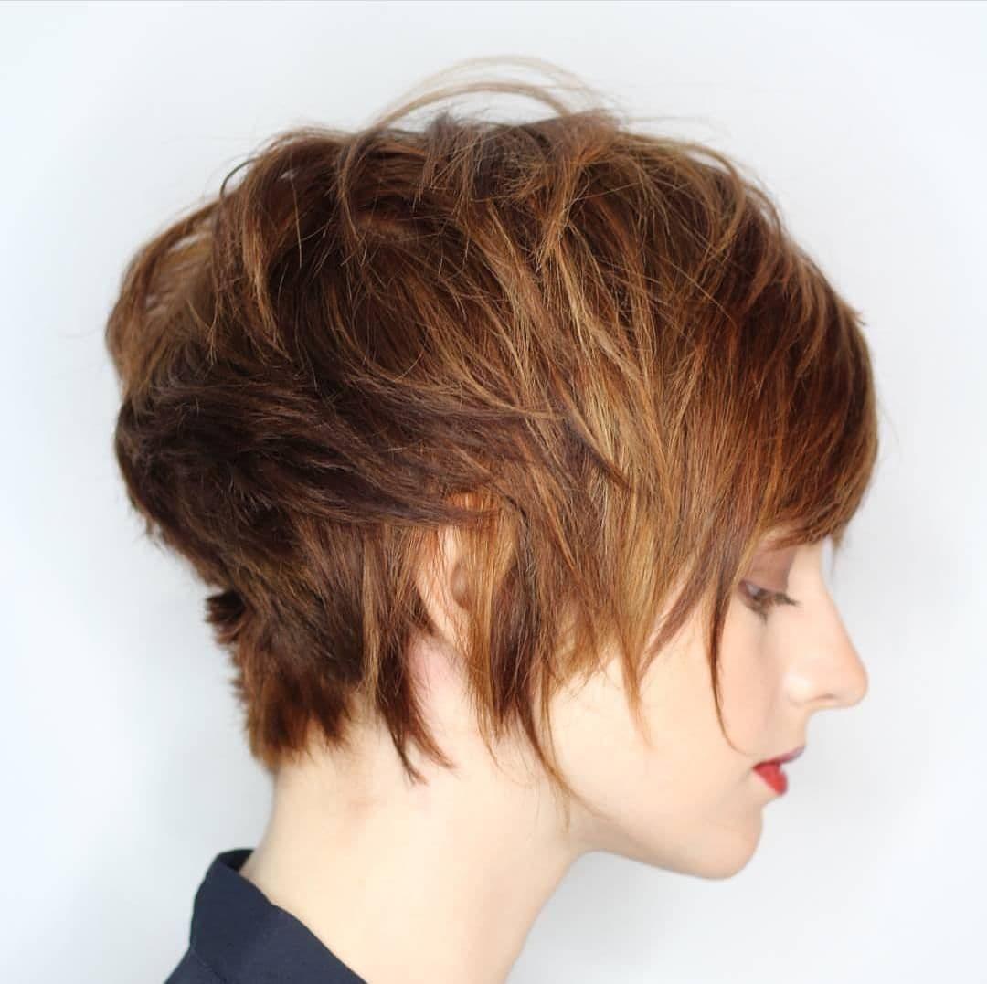 10 вариантов стрижки Пикси для разных типов волос