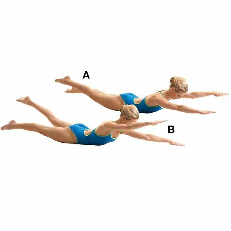 10 эффективных упражнений для мышц спины, которые можно выполнять дома