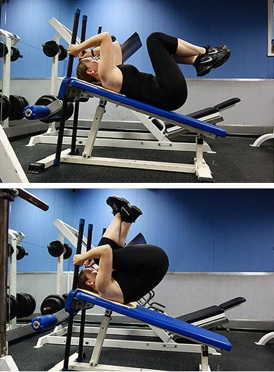 4 упражнения на пресс для подтянутого живота