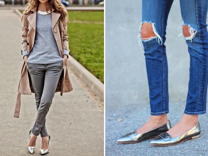 Как выглядеть стильно без каблуков?