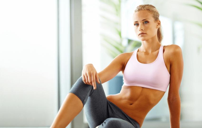Комплекс упражнений для плоского живота