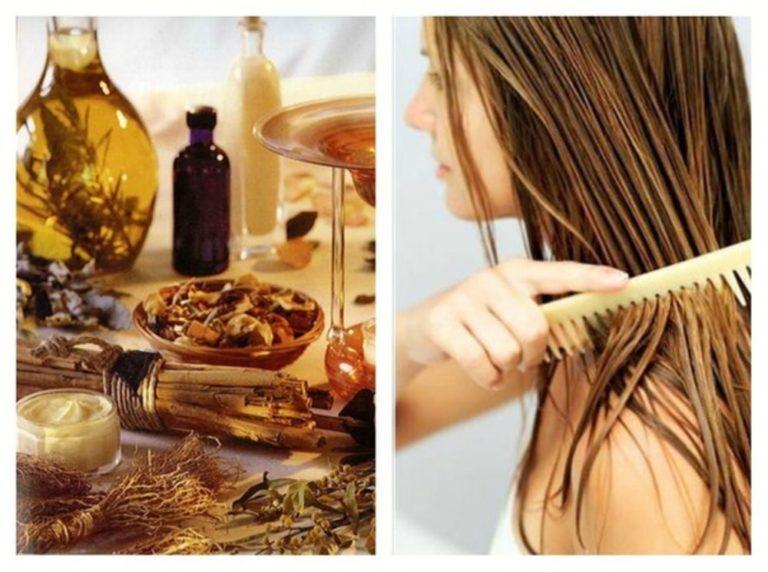 Масла для волос. Правила эффективного нанесения их на волосы