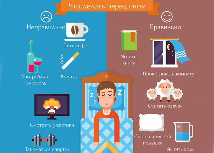 Основные правила здорового сна