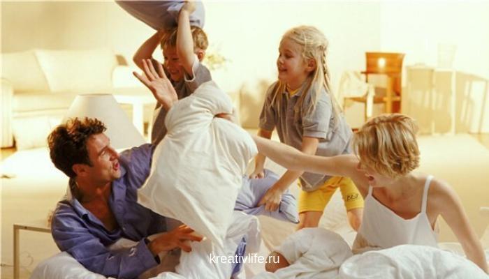дети и родители на самоизоляции
