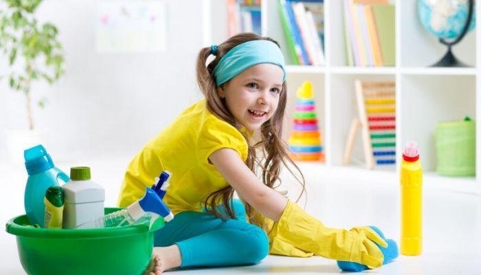 Как приобщить ребенка к помощи в домашних делах