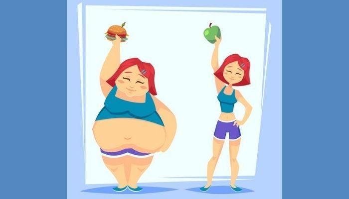 Лишний и нормальный вес