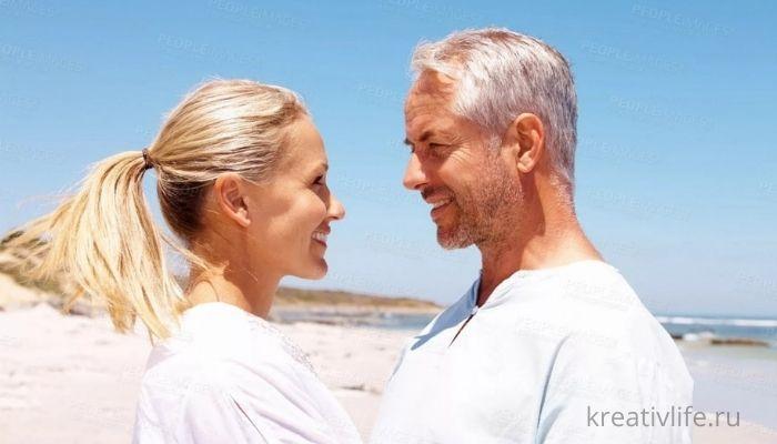 Разница в возрасте партнеров. Мужчина старше женщины. Особенности отношений.