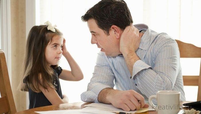 Как разговаривать с ребенком, чтобы он вас слушал и слушался . Папа с дочкой