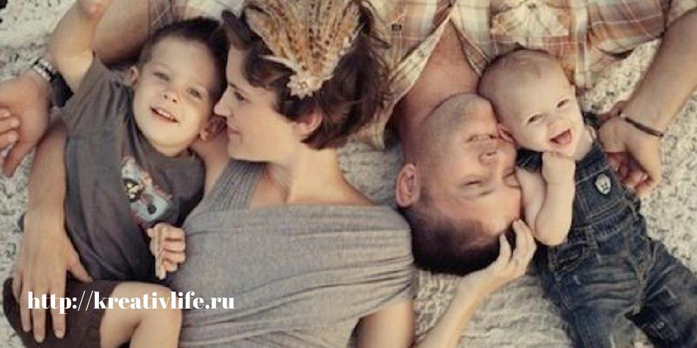 Семья в воспитании мальчика