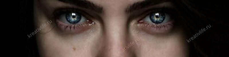 Глаза, слезы, женские, лицо, девушки