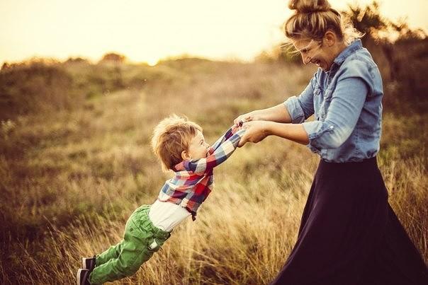мама сын воспитание